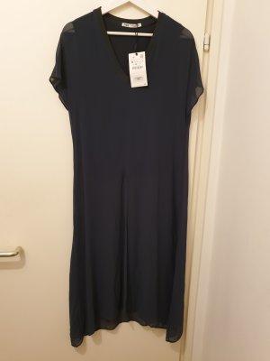 Lange Tunikabluse von Zara, Gr. M