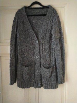 Tommy Hilfiger Coarse Knitted Jacket grey