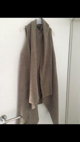 H&M Crochet Cardigan light brown