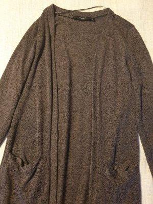 Vero Moda Cardigan lungo smanicato grigio scuro