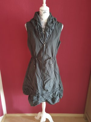 Glamz Quilted Gilet grey