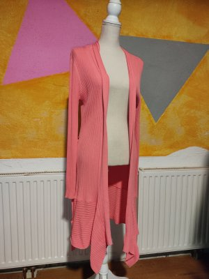 Yest Long Knitted Vest pink