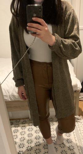 Lange Wolljacke