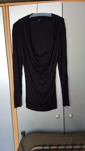 Amisu Lange jumper zwart