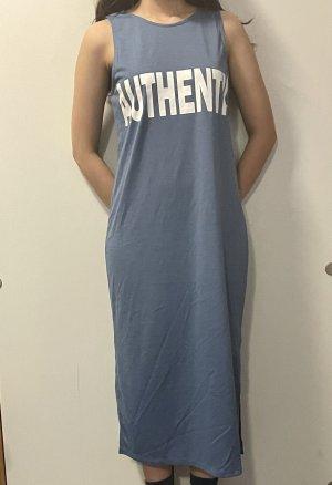 H&M Abito cut out blu fiordaliso