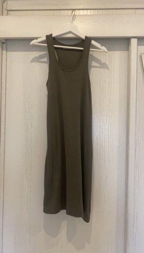 Zabaione Vestido de tubo verde oscuro
