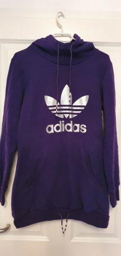 Adidas Top à capuche blanc cassé-violet