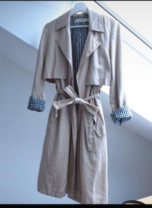 Langer beige Zara Trenchcoat  Gr.S