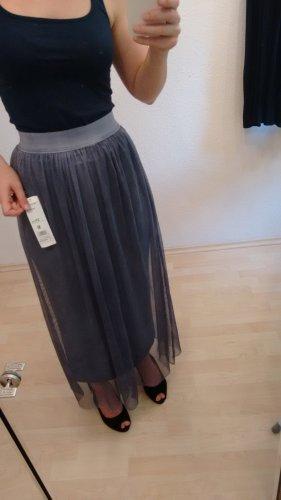 Jupe taille haute multicolore
