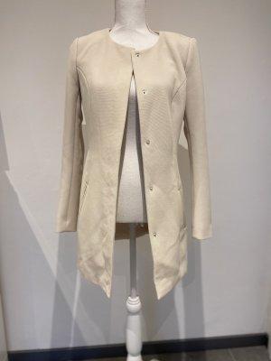 Jacqueline de Yong Lange blazer room-licht beige