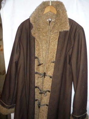 Winter Coat bronze-colored-sand brown