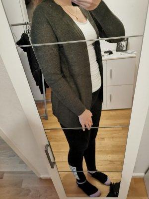 Langer Cardigan khaki