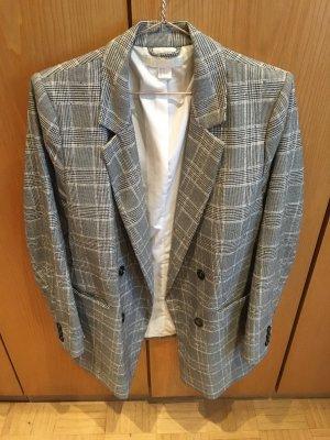 Langer Checked Blazer von H&M