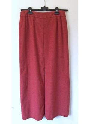 Laurèl Jupe en laine rouge foncé-rouge carmin laine