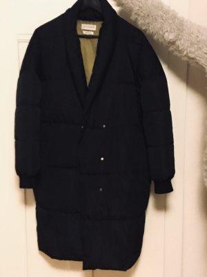 Native Youth Gewatteerde jas zwart
