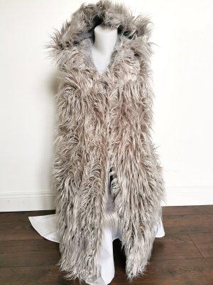 Veste oversize gris clair-gris