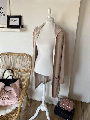 edc by Esprit Manteau en tricot blanc-beige
