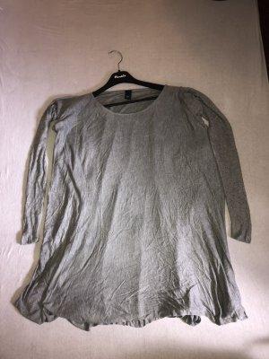 BC Best Connetions Cienki sweter z dzianiny szary