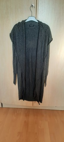 Apanage Cardigan en crochet gris anthracite polyamide