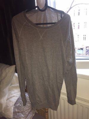 GinaTricot Oversized Sweater grey