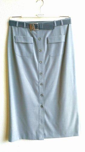 Hammer High Waist Skirt grey