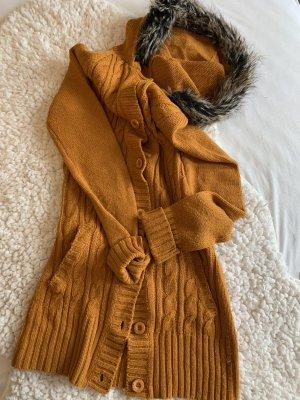 moodo Long Sweater russet