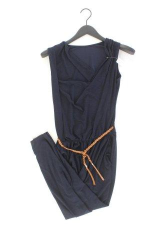 Langer Jumpsuit Größe 38 blau aus Polyester