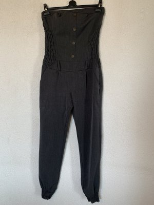 Langer Jumpsuit / Overall grau
