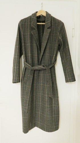 H&M Cappotto in lana multicolore