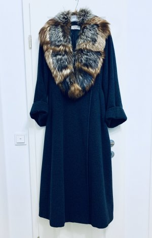 0039 Italy Manteau de fourrure multicolore laine vierge