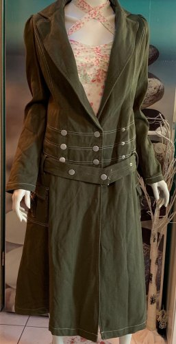 Blutgeschwister Between-Seasons-Coat khaki