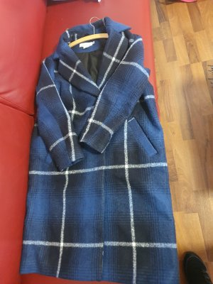 H&M L.O.G.G. Coat Dress dark blue