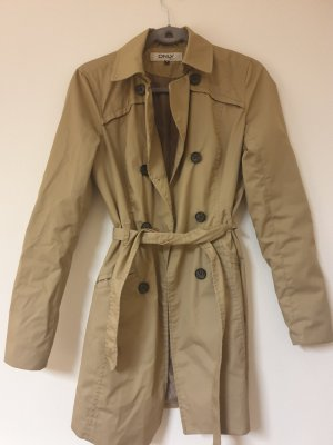 Only Robe manteau beige-chameau