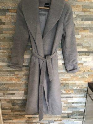 Missguided Winter Coat light grey-grey