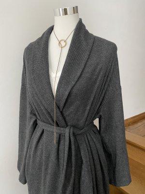 American Vintage Abrigo de entretiempo gris oscuro-gris antracita