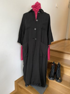 American Vintage Manteau oversized noir