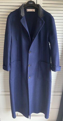 Marni Manteau en laine multicolore