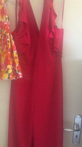 Langer Overall im schönen rot/pink Ton
