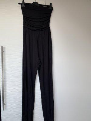 Langer Overall schwarz