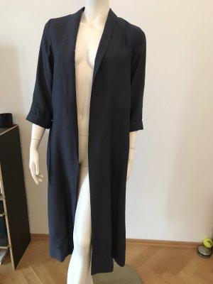 COS Long Blazer dark blue modal fibre