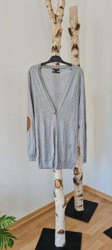 Massimo Dutti Pull long gris clair