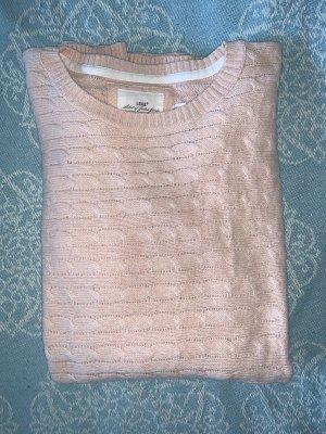 H&M Długi sweter różany Bawełna