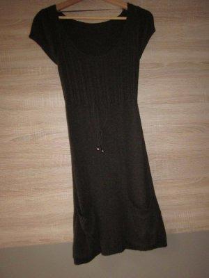Clockhouse Long Sweater dark brown viscose