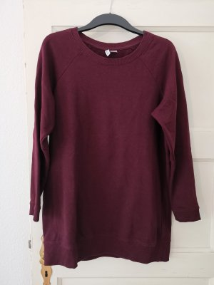 langer Pullover Pulli Sweatshirt Pullikleid H&M Gr.S