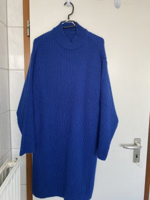 Lange cardigan blauw