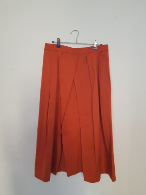 Marks & Spencer (Autograph) Maxi Skirt gold orange-dark orange