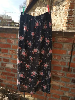 H&M Divided Maxi gonna nero
