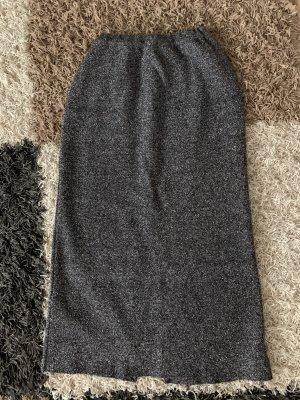 Rocco Barocco High Waist Skirt black-light grey