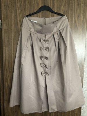 Spódnica maxi w kolorze różowego złota