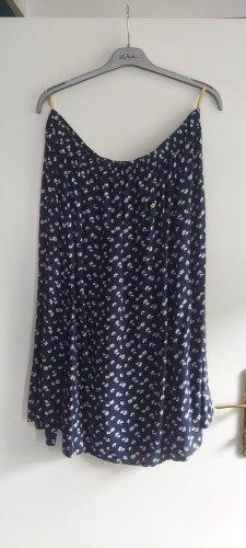 Maxi Skirt natural white-blue